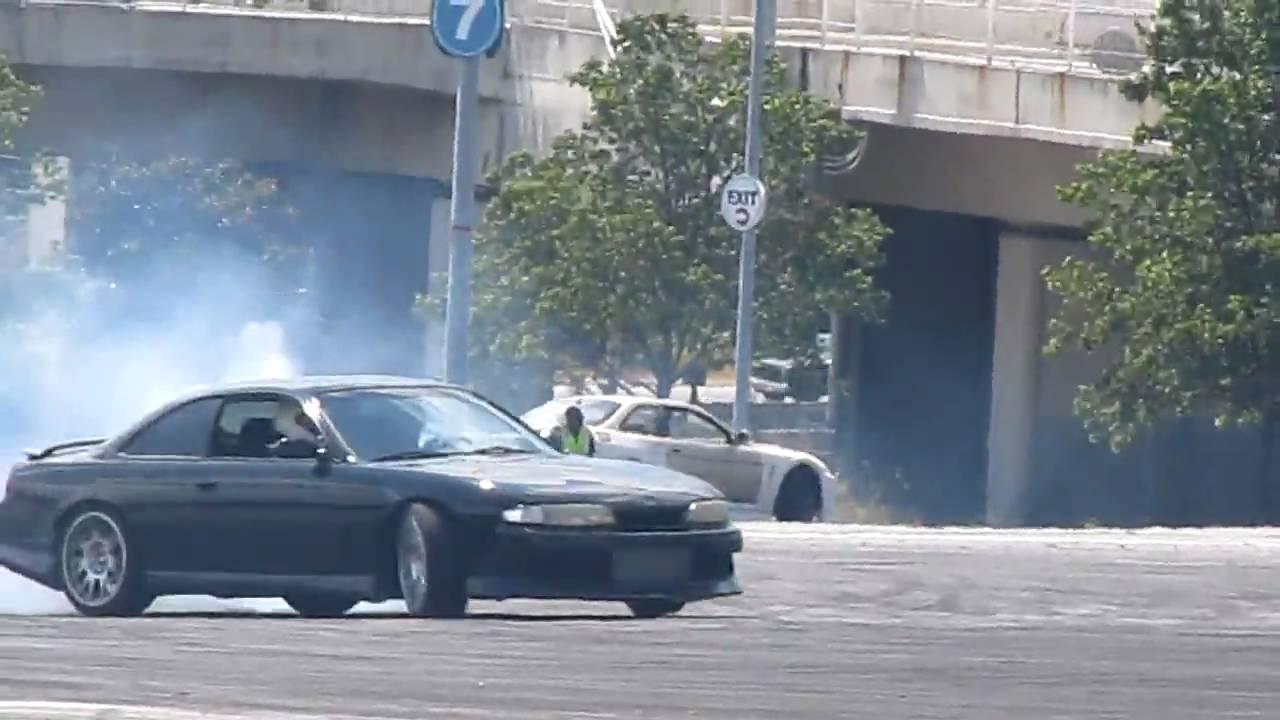 Lexus Sc400 Drifting Turner Field Youtube