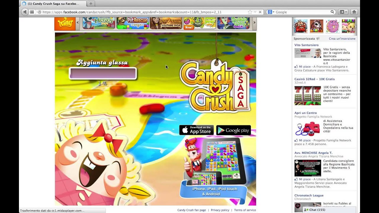 candy crush saga gratis senza