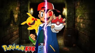 Minecraft POKEMON GO.EXE - PIKACHU.EXE HAS TURNED ASH KETCHUM INTO AN EVIL.EXE!!