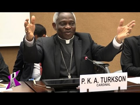Cardinal Peter Turkson at UN Geneva: THE HOLY SEE AND THE 2030 AGENDA