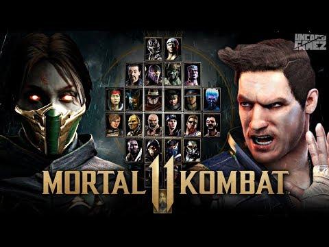 Mortal Kombat 11: FULL Character Roster Wishlist!! thumbnail