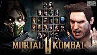 Mortal Kombat 11: FULL Character Roster Wishlist!!