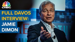 Watch CNBC's full interview with JP Morgan Chase CEO Jamie Dimon at Davos