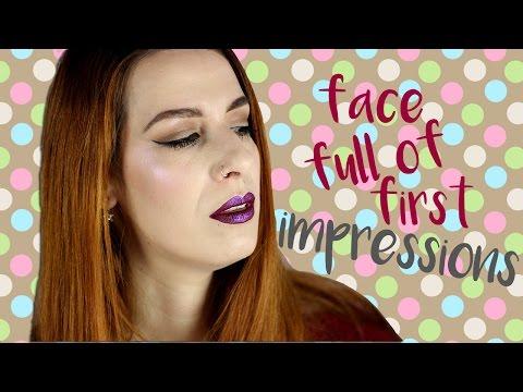 Δοκιμάζοντας καινούρια προϊόντα μακιγιάζ! GRWM & πρώτες εντυπώσεις ✔