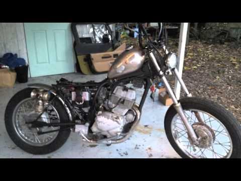 1982 Honda cm250: Backyard Bob - YouTube
