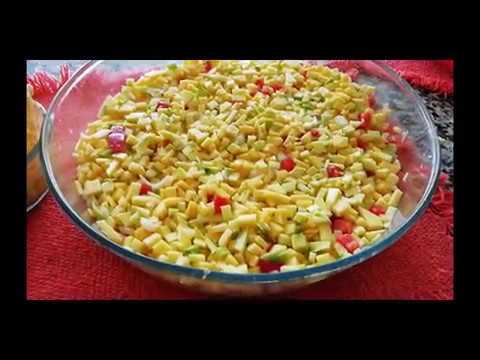 Soy Tico Receta Para Ceviche De Mango Sele