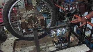 Mechanical engineering students projects-EDDY BRAKING SYSTEM