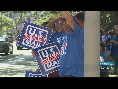 Mail carriers protest push to privatize US Postal Service Mp3
