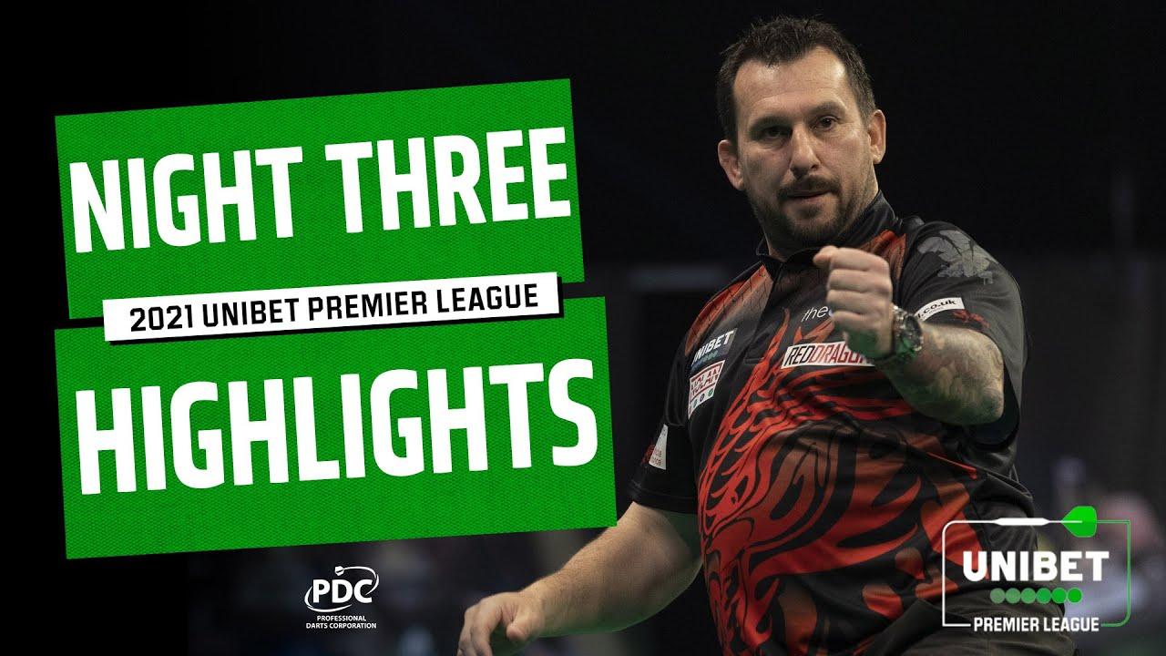 Download NINE-DART CLAYTON   2021 Unibet Premier League   Night Three Highlights