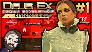 Director's Cut! ▶ Deus Ex Human Revolution Gameplay 🔴 Part 1 - Let's Play Walkthrough