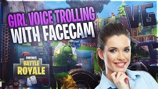 FORTNITE PLAYER GETS DIRTY WITH GAMER GIRL!! (Voice Trolling)