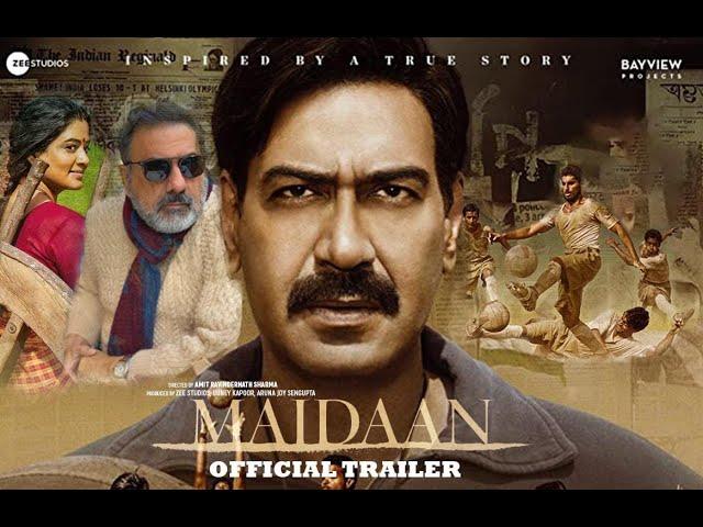 Maidaan Offcial Trailer   Ajay Devgn  Priyamani  Boney Kapoor   Zee Studios   Concept Trailer