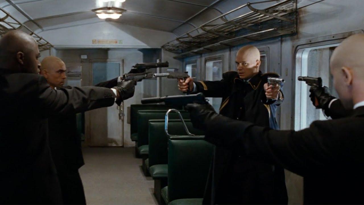 【穷电影】4名顶尖杀手对决,竟丢掉手枪,来一场充满仪式感的生死对决