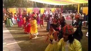 Dholi Taro Dandiya Garbha Dance Performance at a Wedding in India