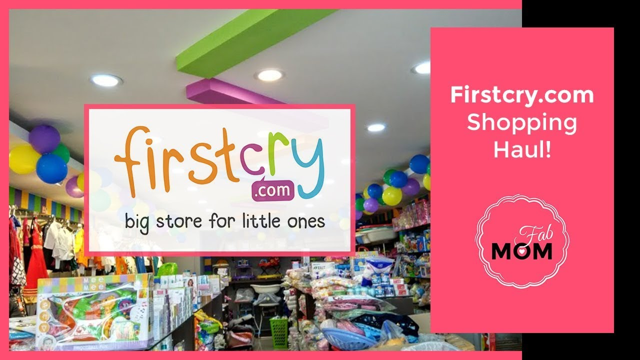 Baby Haul - Shopping on Firstcry and Jabong - Indian Baby girl Shopping Haul  2017 58baa812c2d57