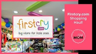 Baby Haul - Shopping on Firstcry and Jabong - Indian Baby girl Shopping Haul 2017