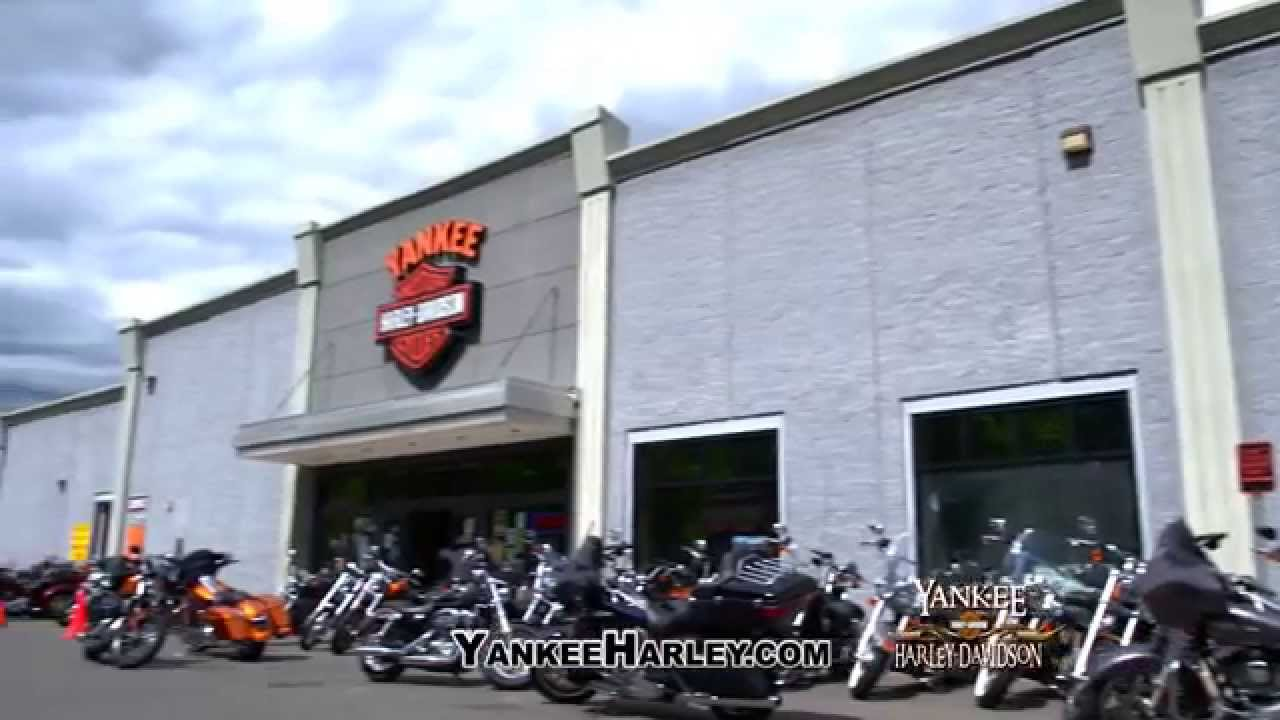 Yankee Harley-Davison (Bristol, CT) - YouTube