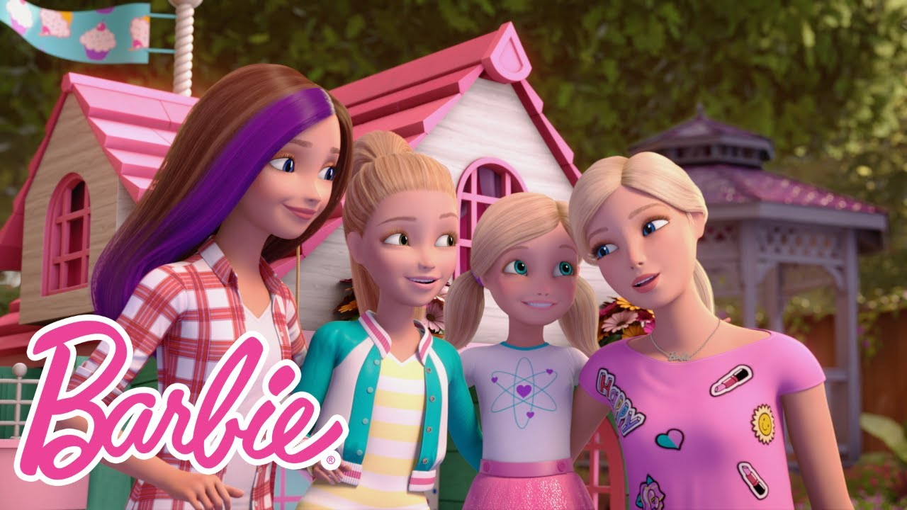 Barbie Skipper Stacie And Chelsea Celebrate Sisters' Day With A Cool Pilation
