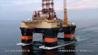 Scarabeo 9 - An Ultra Deepwater Drilling Rig of the Frigstad D90 Design