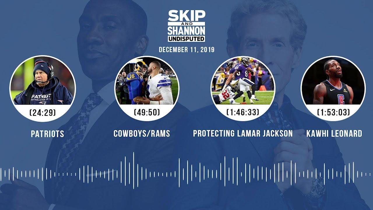 Patriots, Cowboys/Rams, Protecting Lamar Jackson, Kawhi Leonard Audio Podcast