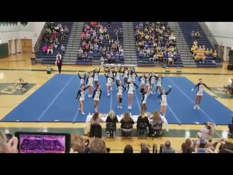 Colonial Forge High School at Commonwealth District Cheer Competition 2017