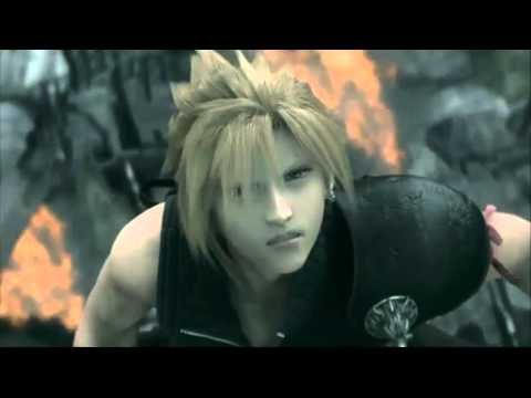 Cloud vs Sephiroth AMV One Winged Angel