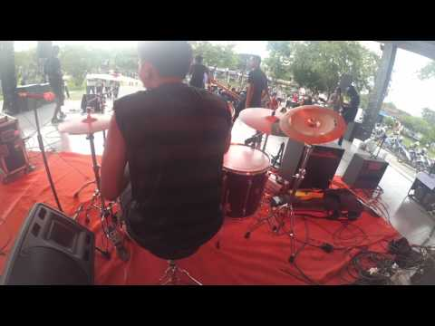 BESIDE - ELEVEN HEROES - DRUM CAM COVER BY AGFATTAH Live NOT JUST NOISE V