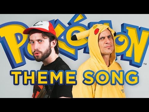 THE POKÉMON THEME - (METAL COVER) Jonathan Young & Jason Paige (the original singer)