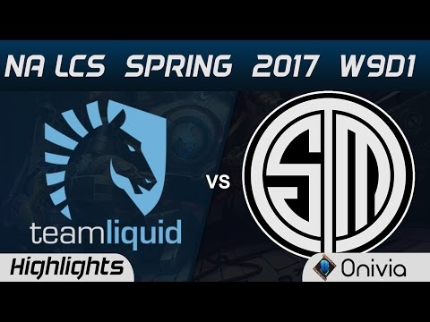 TL vs TSM Highlights Game 3 NA LCS Spring 2017 W9D2 Team Liquid vs Team Solo Mid