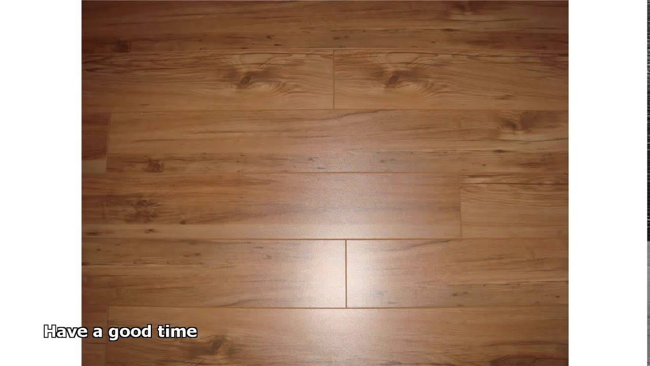Laminated Wooden Flooring Youtube