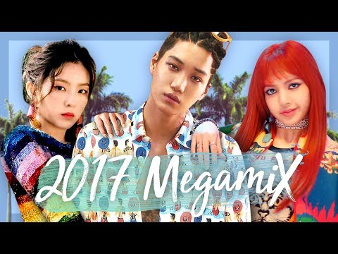 A YEAR IN K-POP | 2017 Megamix (40 Songs!)