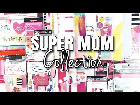 SUPER MOM Happy Planner Girl Collection | At Home With Quita