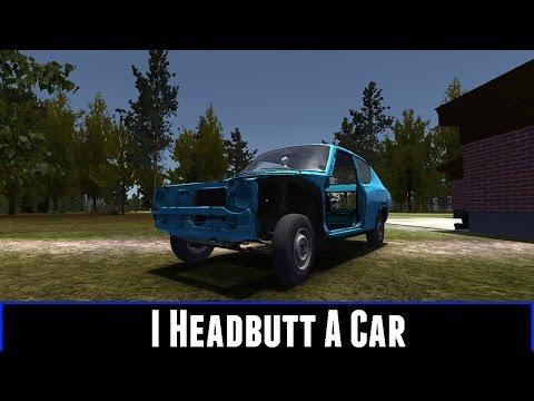 I Headbutt A Car (My Summer Car Part 4)
