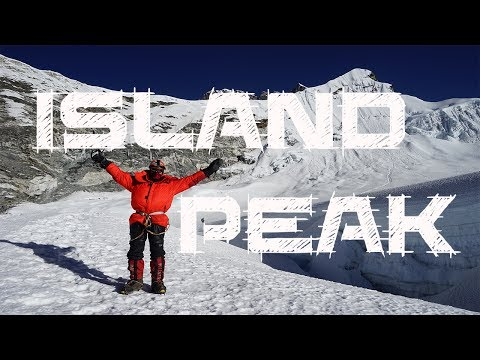 Trekking in the Himalayas - Island Peak 6200m