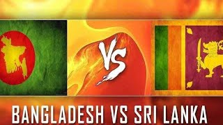 Bangladesh vs srilanka 2018 || nidas trophy T20 match semifinal team