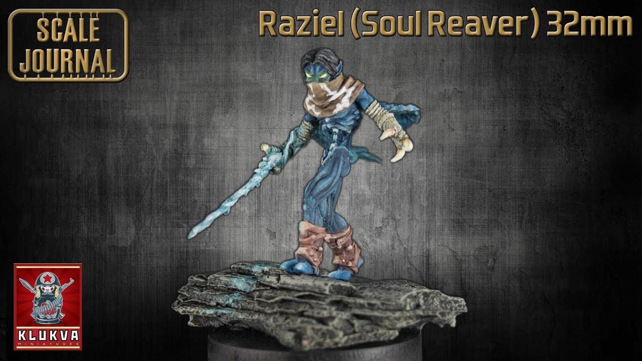 Raziel (Soul Reaver) 32mm (KLUKVA MINIATURES)