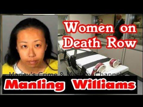 WOMEN ON DEATH ROW - U.S.A. - MANLING WILLIAMS - CALIFORNIA