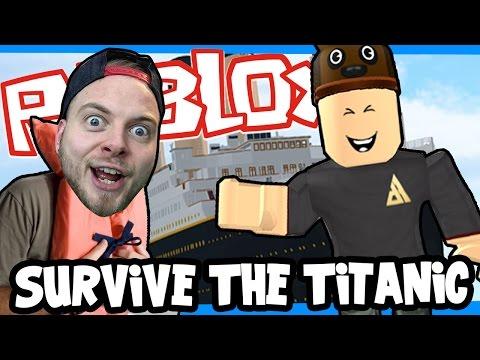 SquiddyPlays - ROBLOX! - ESCAPE THE TITANIC! W/AshDubh