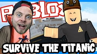 SquiddyPlays - ROBLOX! - ESCAPE THE TITANIC! W/AshDubh