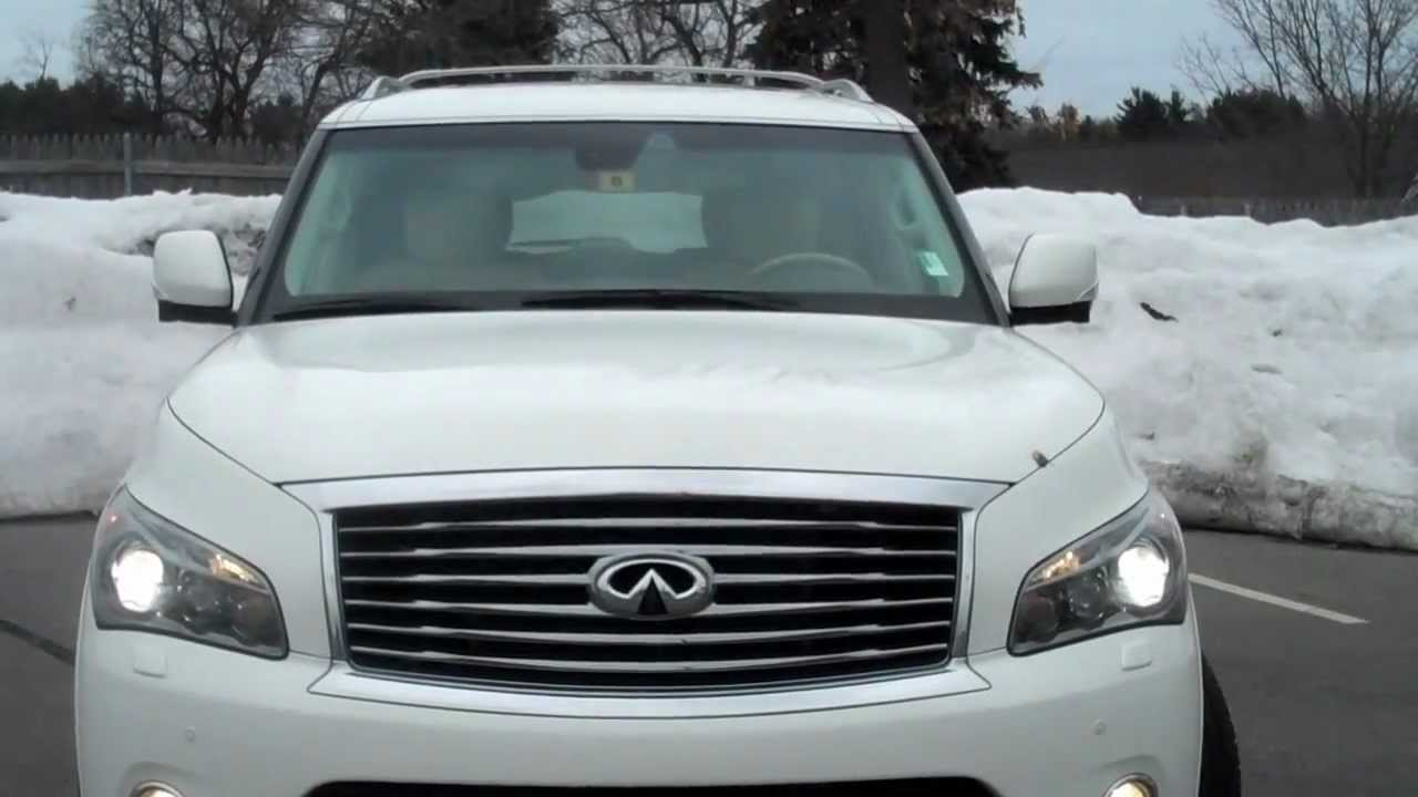 2012 infiniti qx56 4wd moonlight white loaded with 26297 miles 2012 infiniti qx56 4wd moonlight white loaded with 26297 miles from infiniti of nashua 3897a youtube vanachro Images