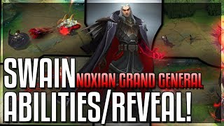 SWAIN REWORK ALL ABILITIES REVEALED!! The Noxian Grand General - New Champion - League of Legends