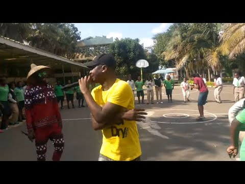 Odi Dance Live Performance at Green Garden Girls High School