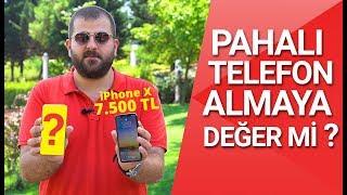 7500 TL vs 3700 TL - iPhone X vs Zenfone 5Z! Aradaki fiyat farkına değer mi?