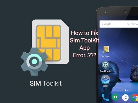 How To Fix SIM ToolKit App Error