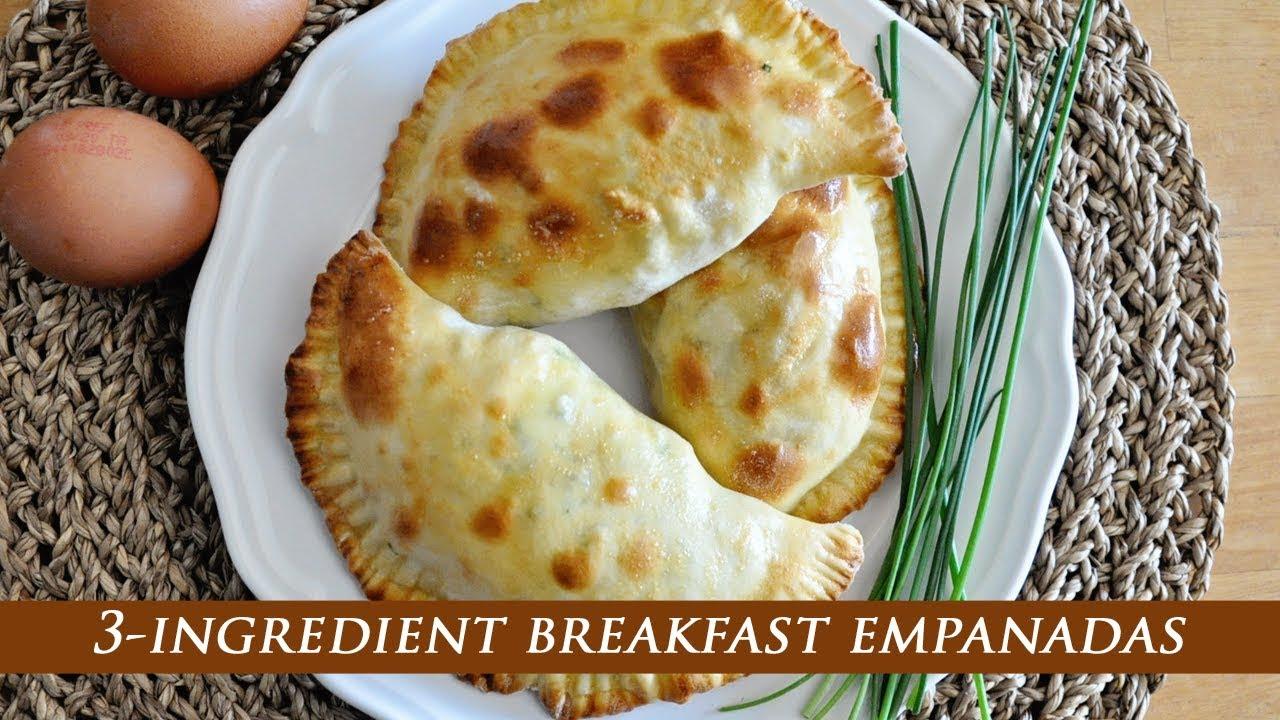 Download 3-Ingredient BREAKFAST EMPANADAS with EGGS & CHEESE