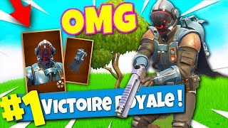 TOP 1 avec le NOUVEAU SKIN SECRET SUPERPRODUCTION sur FORTNITE Battle Royale