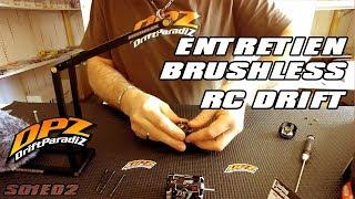 ENTRETIEN moteur BRUSHLESS en RC DRIFT - DPZ S01E02