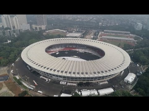 Gbk Sports Complex Ready To Welcome Asian Games 2018 Youtube