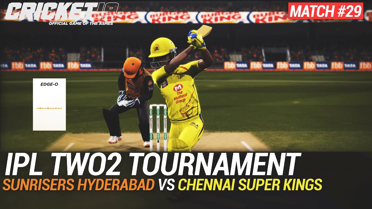 CRICKET 19 - IPL2020 TWO2 - MATCH #29 - SUNRISERS HYDERABAD vs CHENNAI SUPER KINGS