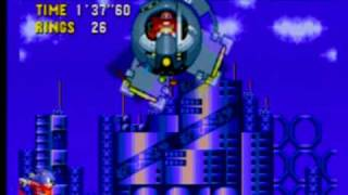 Sonic CD - Metallic Madness Zone 3 (all time zones with JP/EU sndtrk)